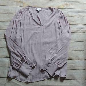 Tops - Dusty lavender blouse